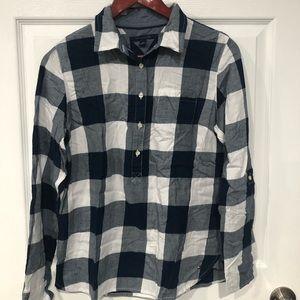 Tommy checkered long sleeves medium